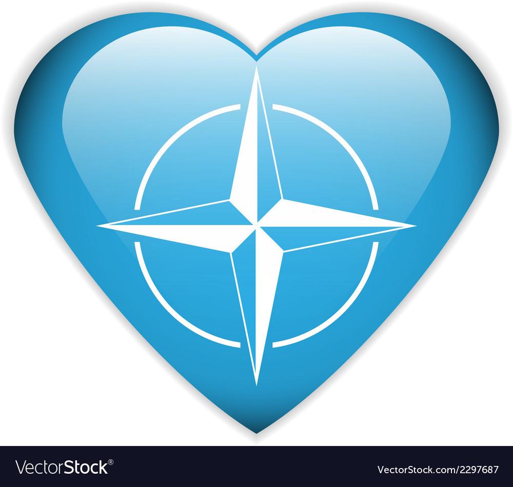 Nato flag vector | Price: 1 Credit (USD $1)