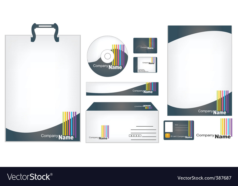 Office equipment vector | Price: 1 Credit (USD $1)