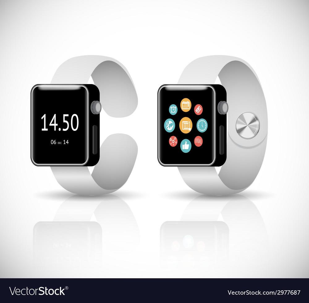 Smart watch vector | Price: 1 Credit (USD $1)