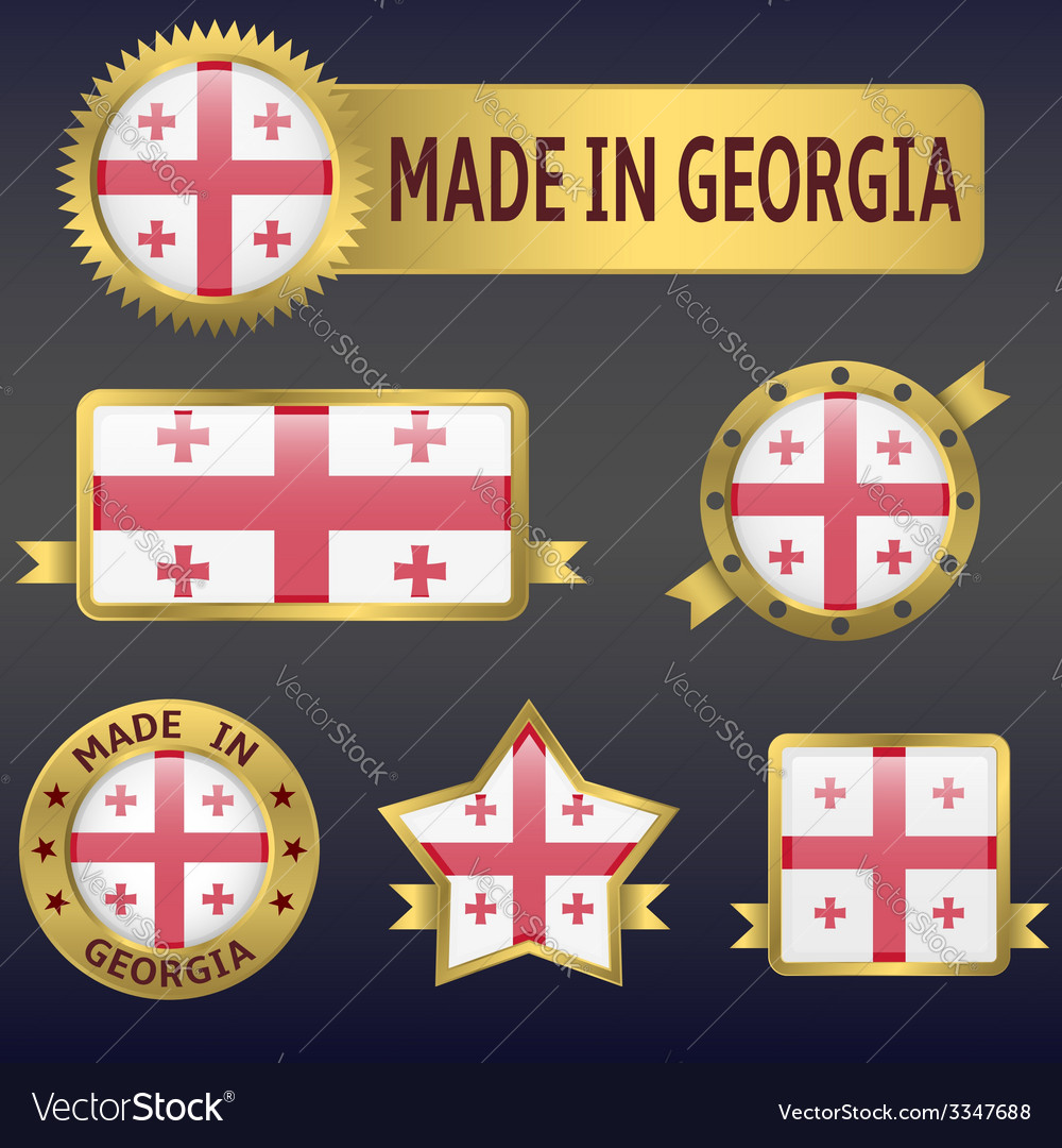 Made in georgia vector | Price: 3 Credit (USD $3)