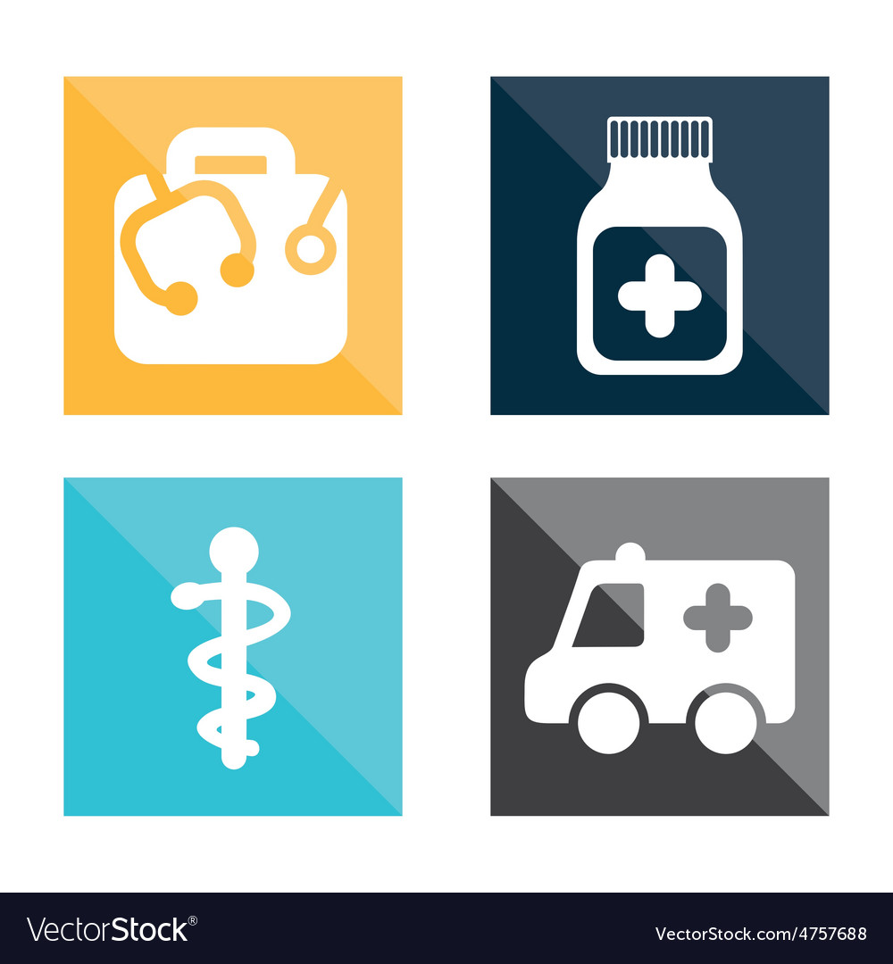 Medical icons vector   Price: 1 Credit (USD $1)