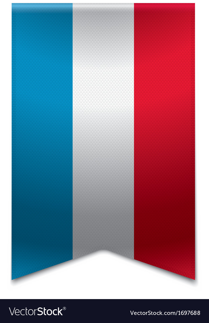 Ribbon banner - flag of luxembourg vector | Price: 1 Credit (USD $1)
