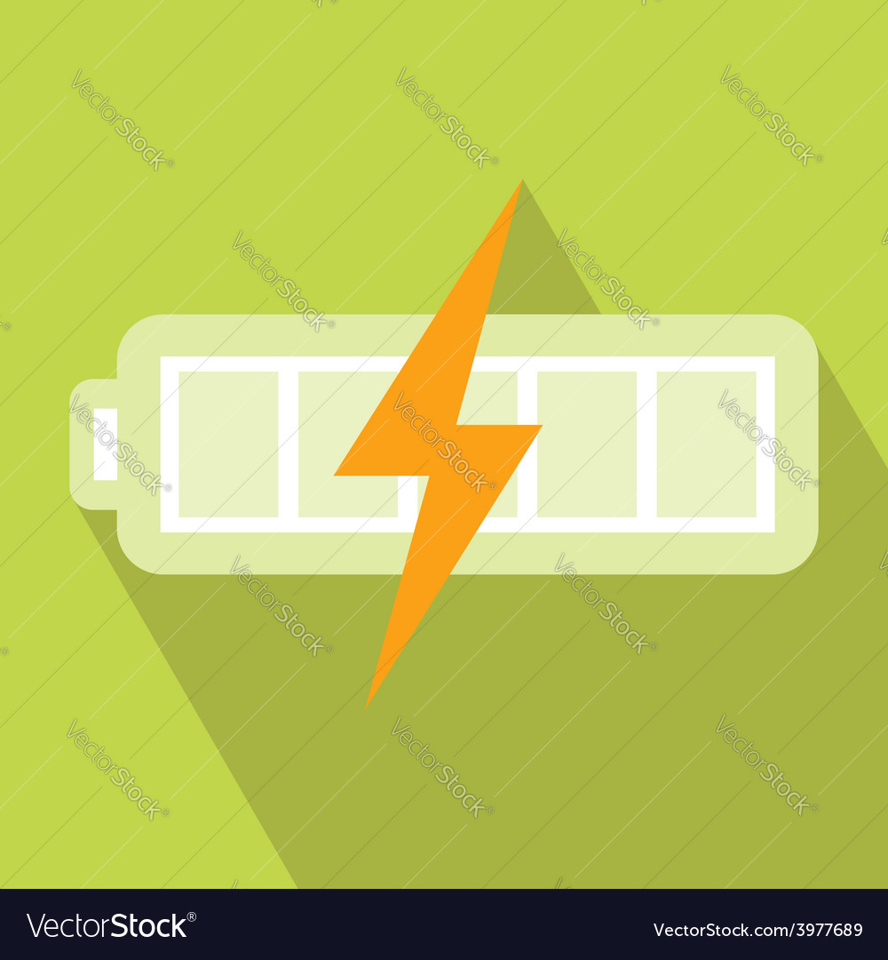 Battery charger icon vector | Price: 1 Credit (USD $1)
