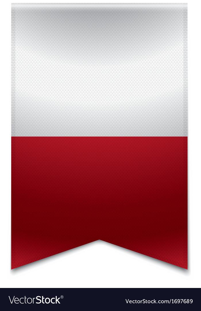 Ribbon banner - maltese flag vector | Price: 1 Credit (USD $1)