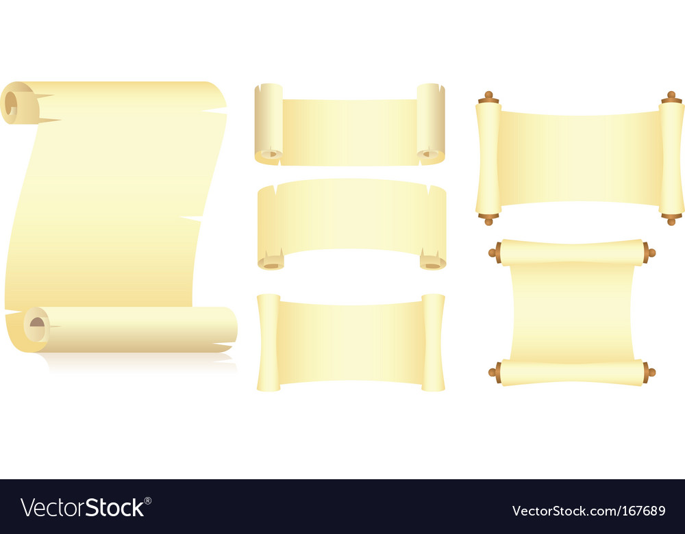 Set of rolls vector | Price: 1 Credit (USD $1)