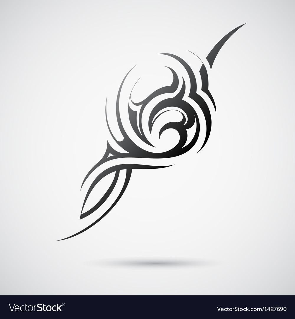 Abstract tribal design vector | Price: 1 Credit (USD $1)