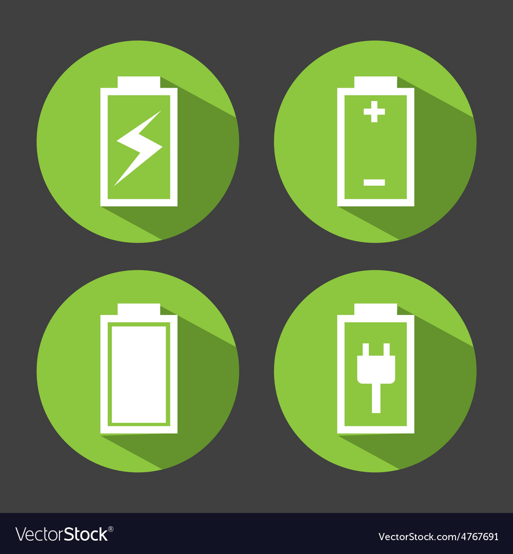 Battery power vector | Price: 1 Credit (USD $1)