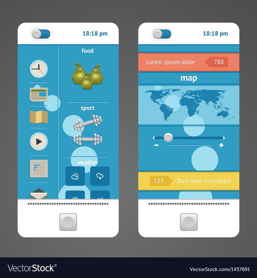 Design elements phone vector | Price: 1 Credit (USD $1)
