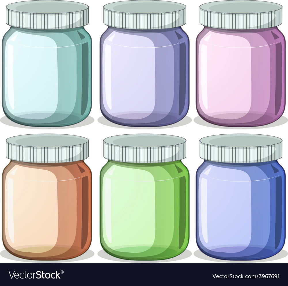 Jars vector | Price: 1 Credit (USD $1)