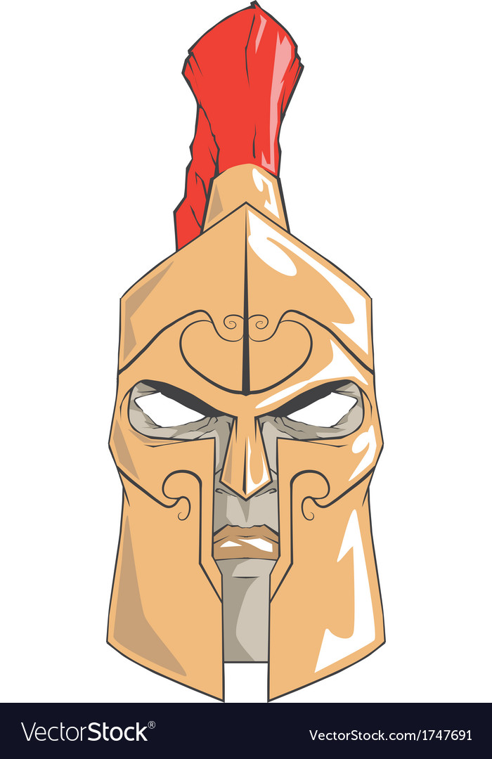 Spartan warrior vector | Price: 1 Credit (USD $1)