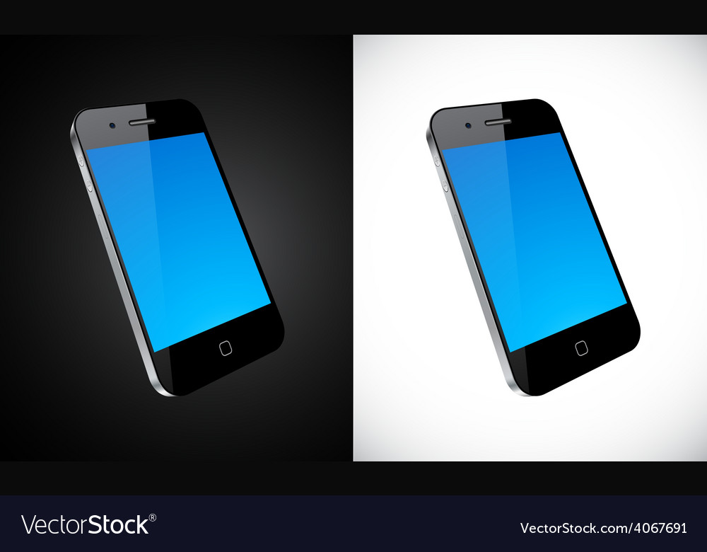 Touchscreen smartphone concept vector | Price: 1 Credit (USD $1)