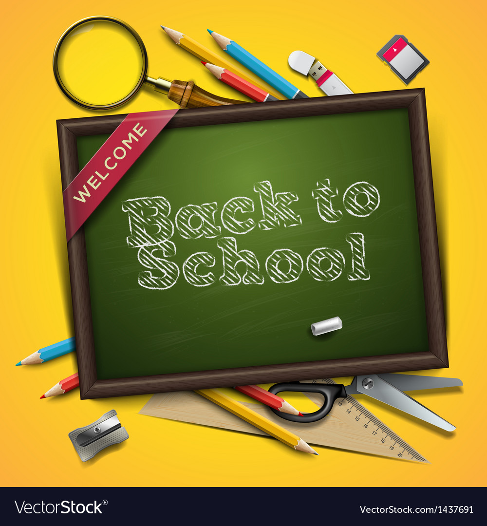Welcome back to school vector | Price: 3 Credit (USD $3)