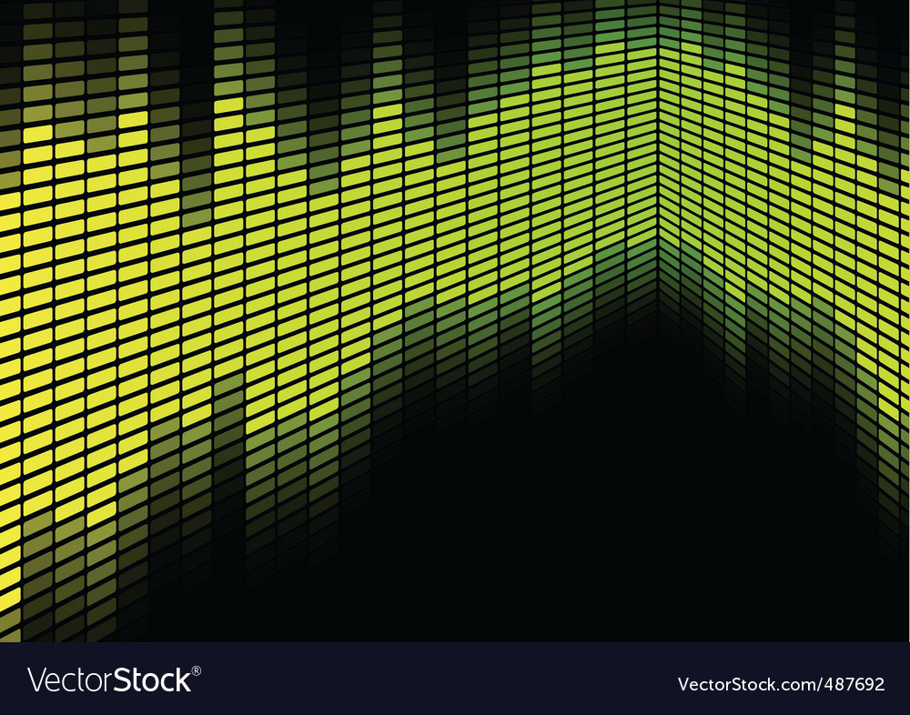 Abstract equalizer background vector | Price: 1 Credit (USD $1)