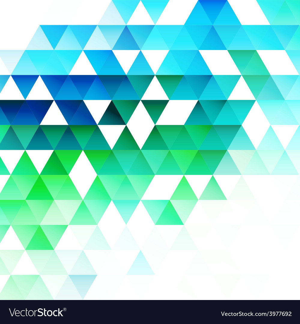 Abstract triangular background vector | Price: 3 Credit (USD $3)