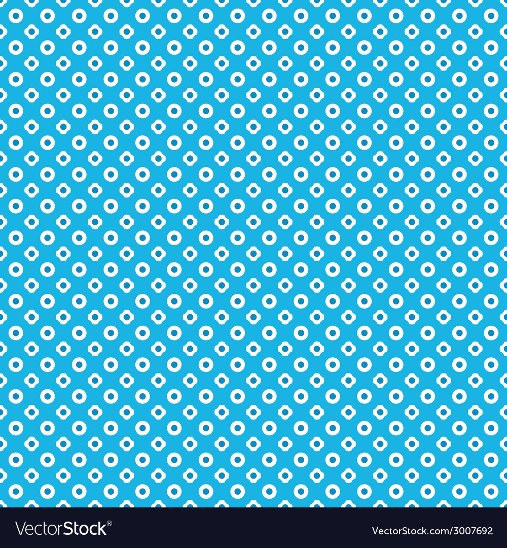 Blue seamless pattern background vector | Price: 1 Credit (USD $1)