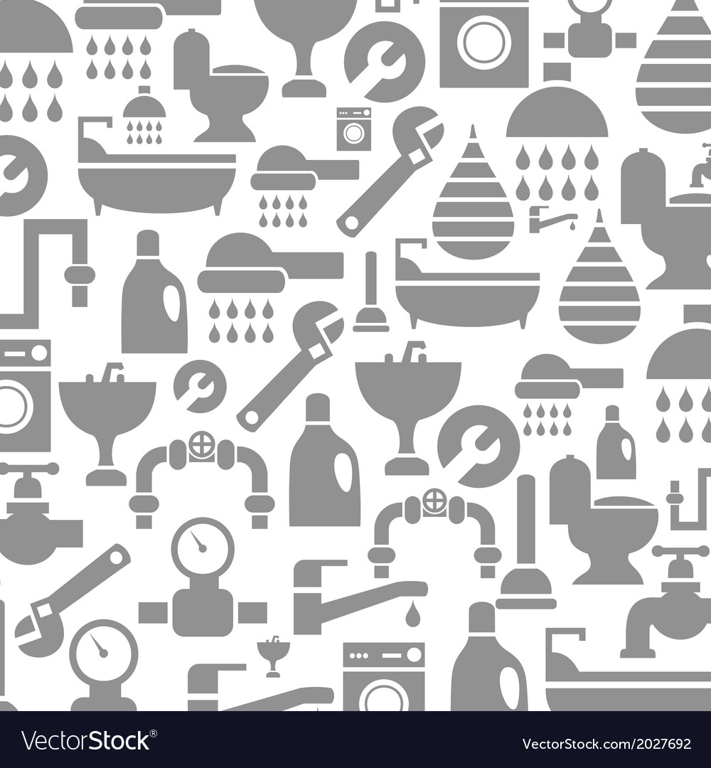Sanitary technician background vector | Price: 1 Credit (USD $1)