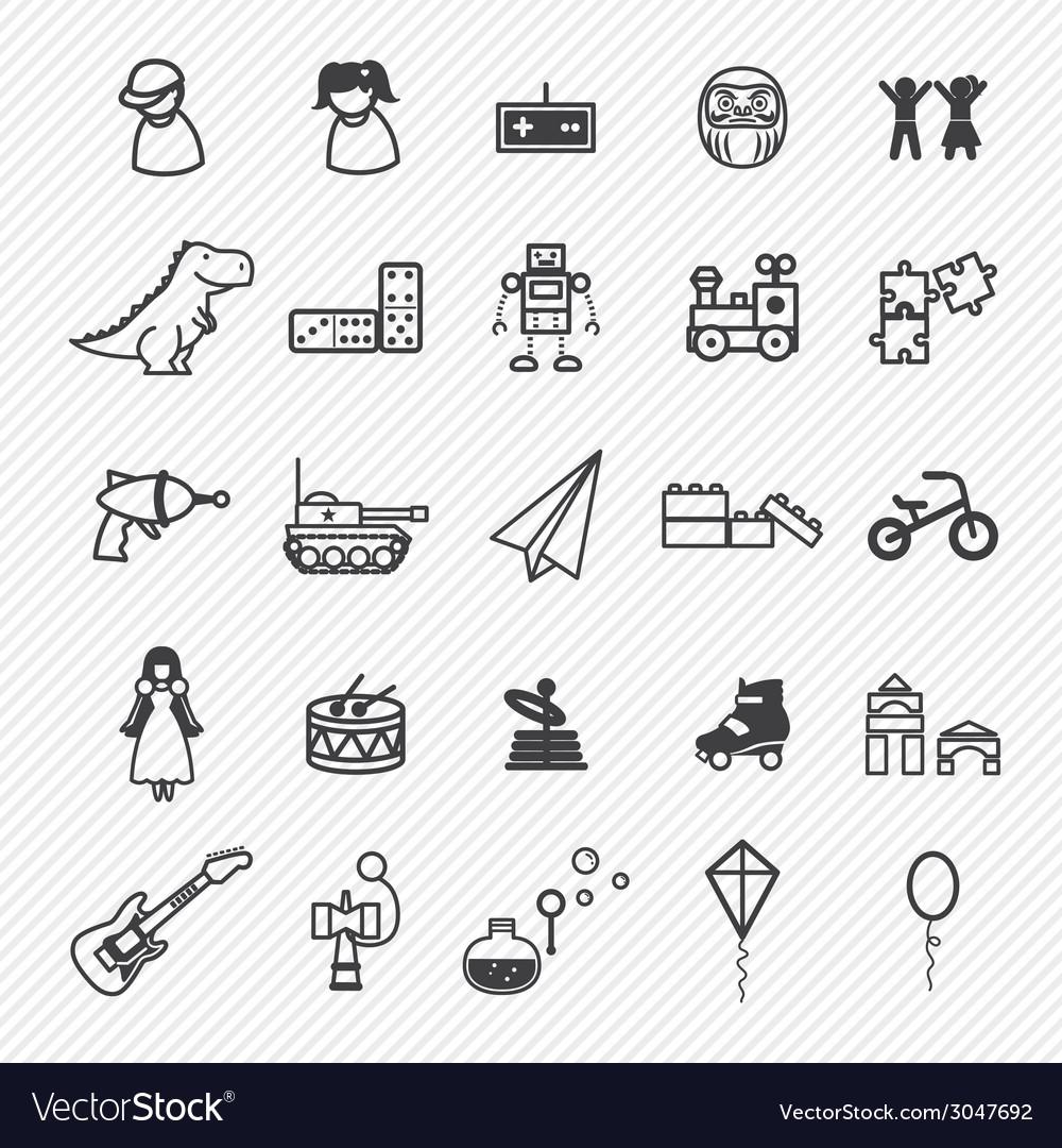 Sport icons set vector | Price: 1 Credit (USD $1)