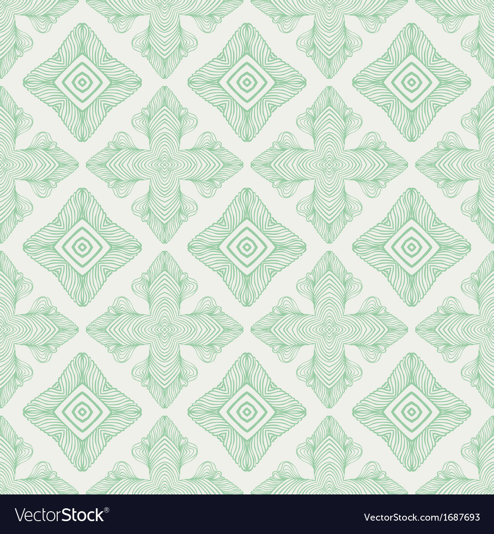 Linear medieval seamless pattern vector | Price: 1 Credit (USD $1)