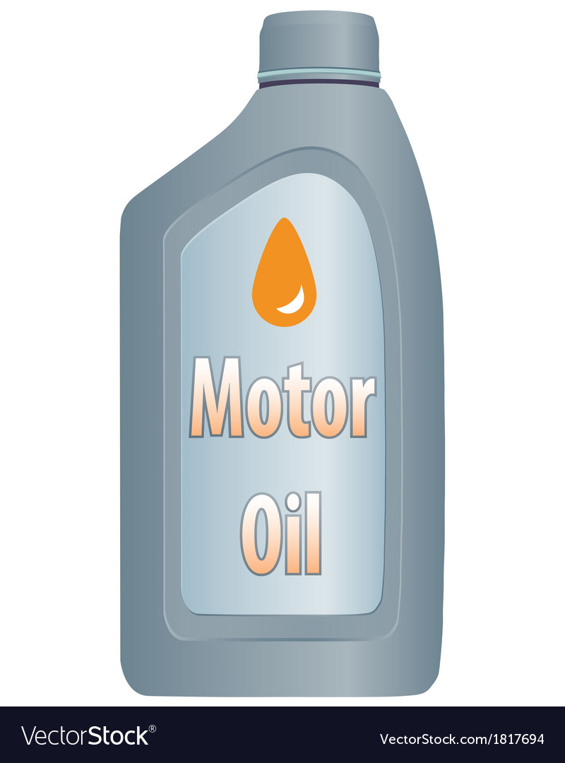 Motor oil bottle vector | Price: 1 Credit (USD $1)