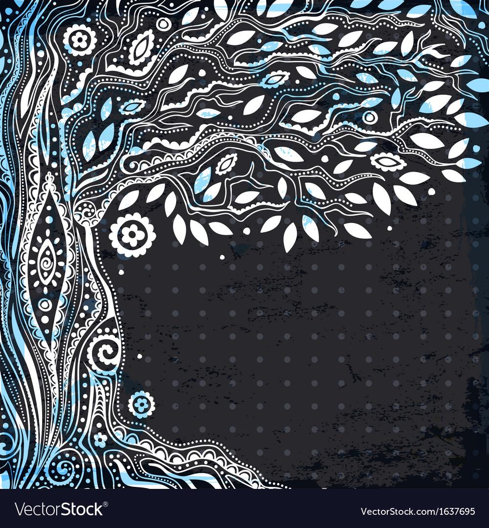 Beautiful tree of life vector | Price: 1 Credit (USD $1)