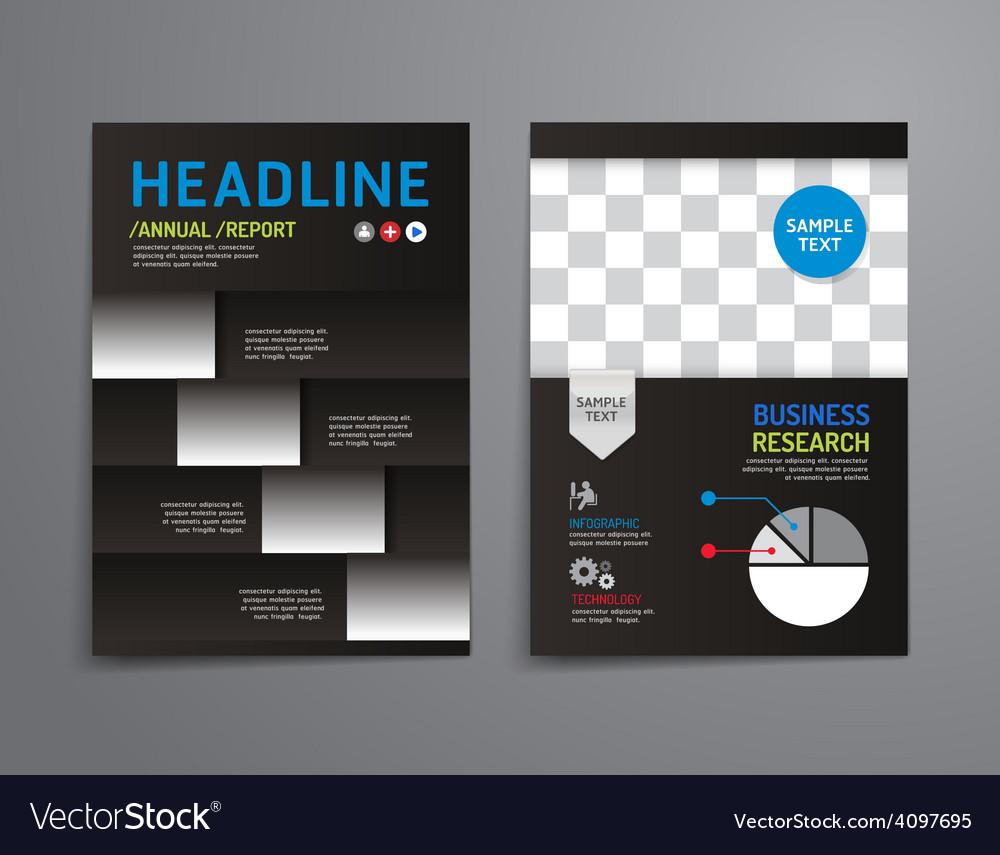 Brochure flyer magazine cover booklet poster desig vector | Price: 3 Credit (USD $3)