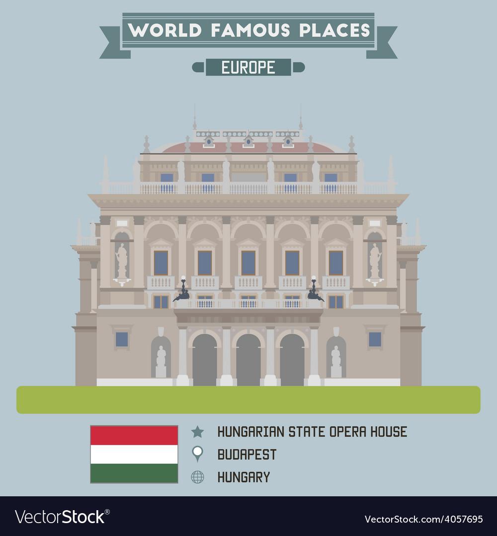 Opera budapest vector | Price: 1 Credit (USD $1)