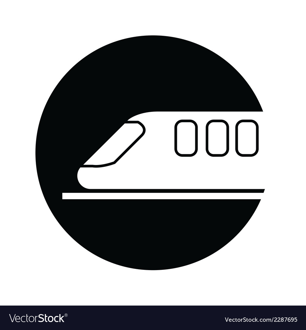 Train symbol icon vector | Price: 1 Credit (USD $1)
