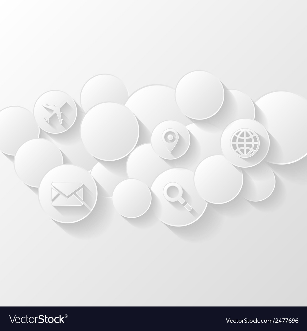 Cloud storage concept vector | Price: 1 Credit (USD $1)