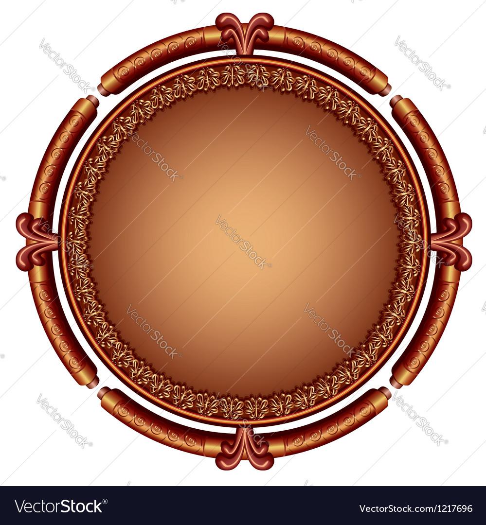Decorative ornamental frame vector | Price: 1 Credit (USD $1)