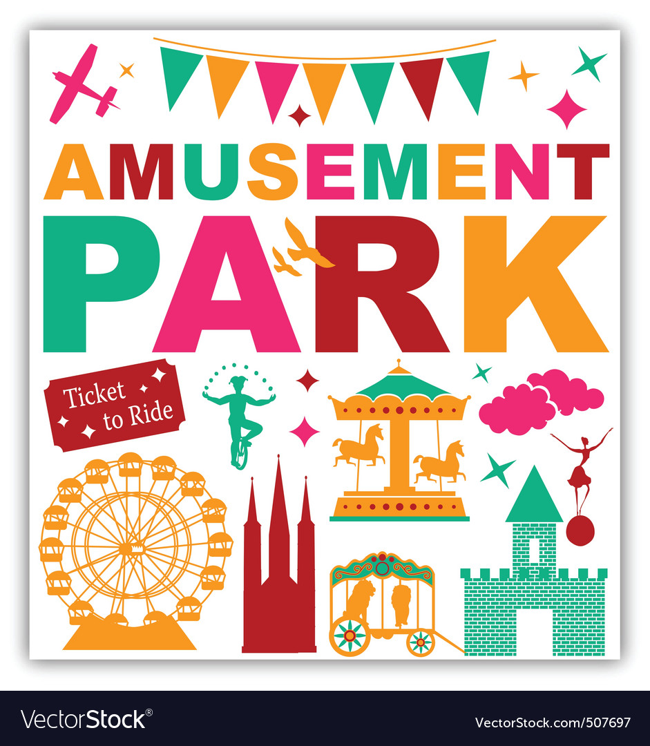 Amusement park vector | Price: 1 Credit (USD $1)