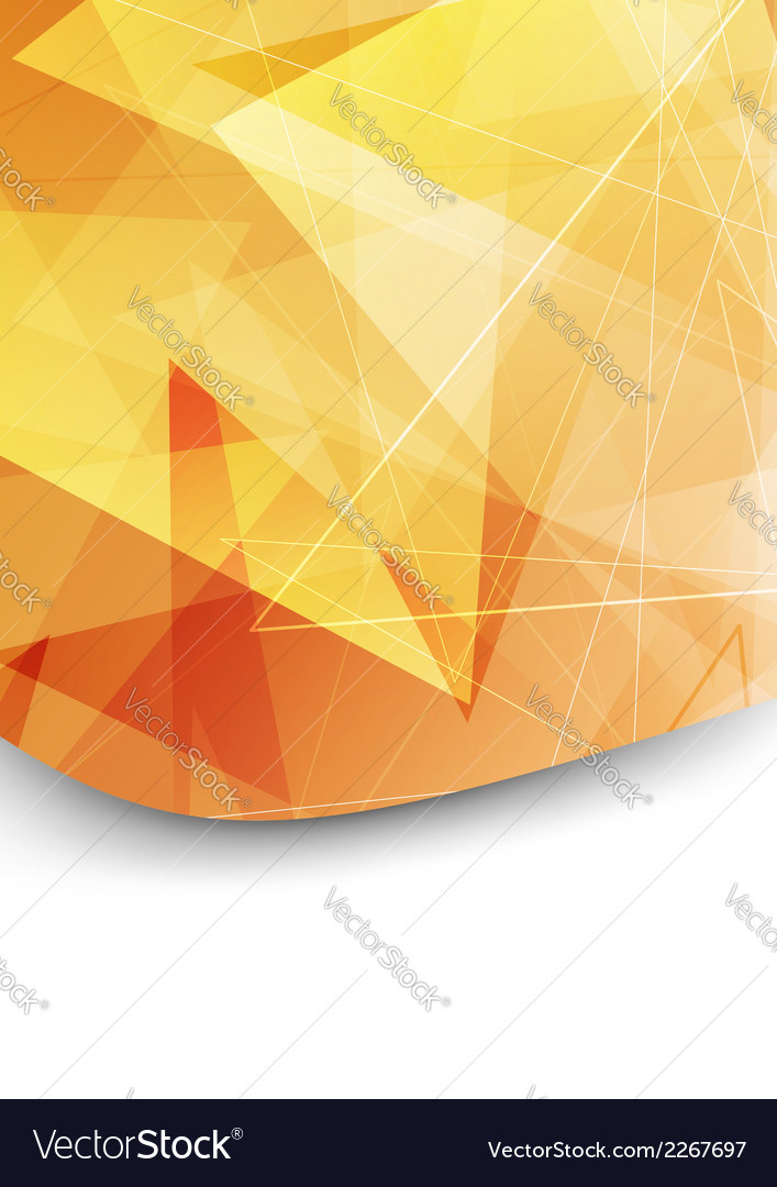 Bright orange folder background template vector | Price: 1 Credit (USD $1)