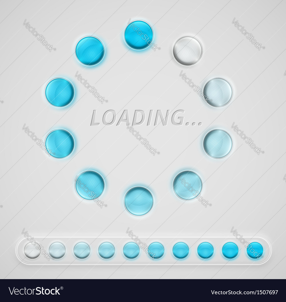 Loading interface vector | Price: 1 Credit (USD $1)