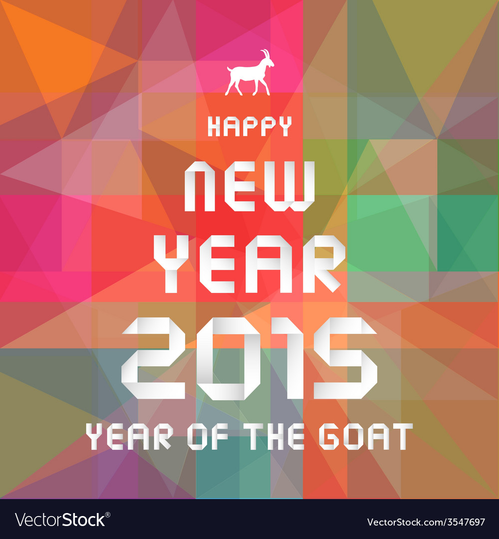 Year of the goat11 vector | Price: 1 Credit (USD $1)