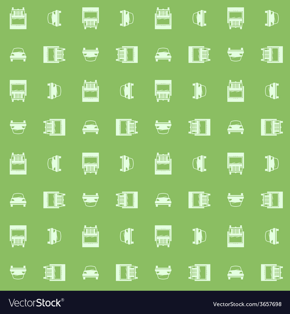 Car and truck seamless vector | Price: 1 Credit (USD $1)