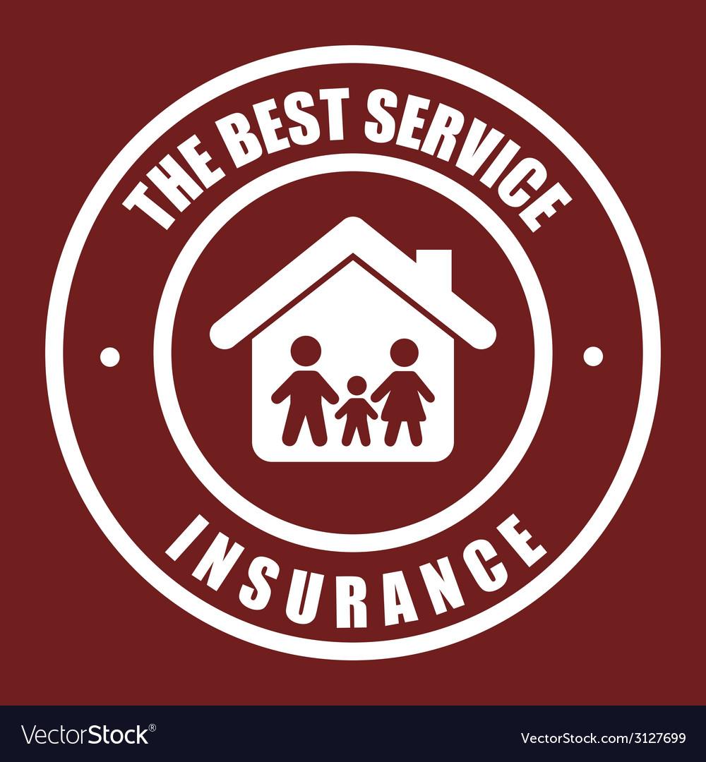Insurance design vector | Price: 1 Credit (USD $1)