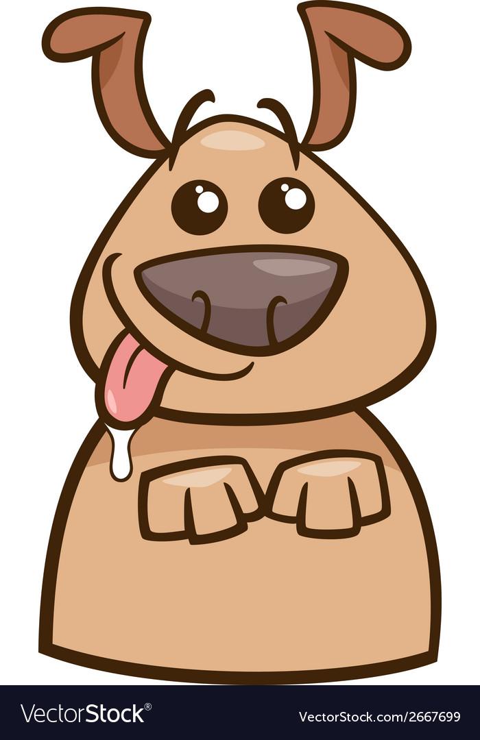 Mood hungry dog cartoon vector   Price: 1 Credit (USD $1)
