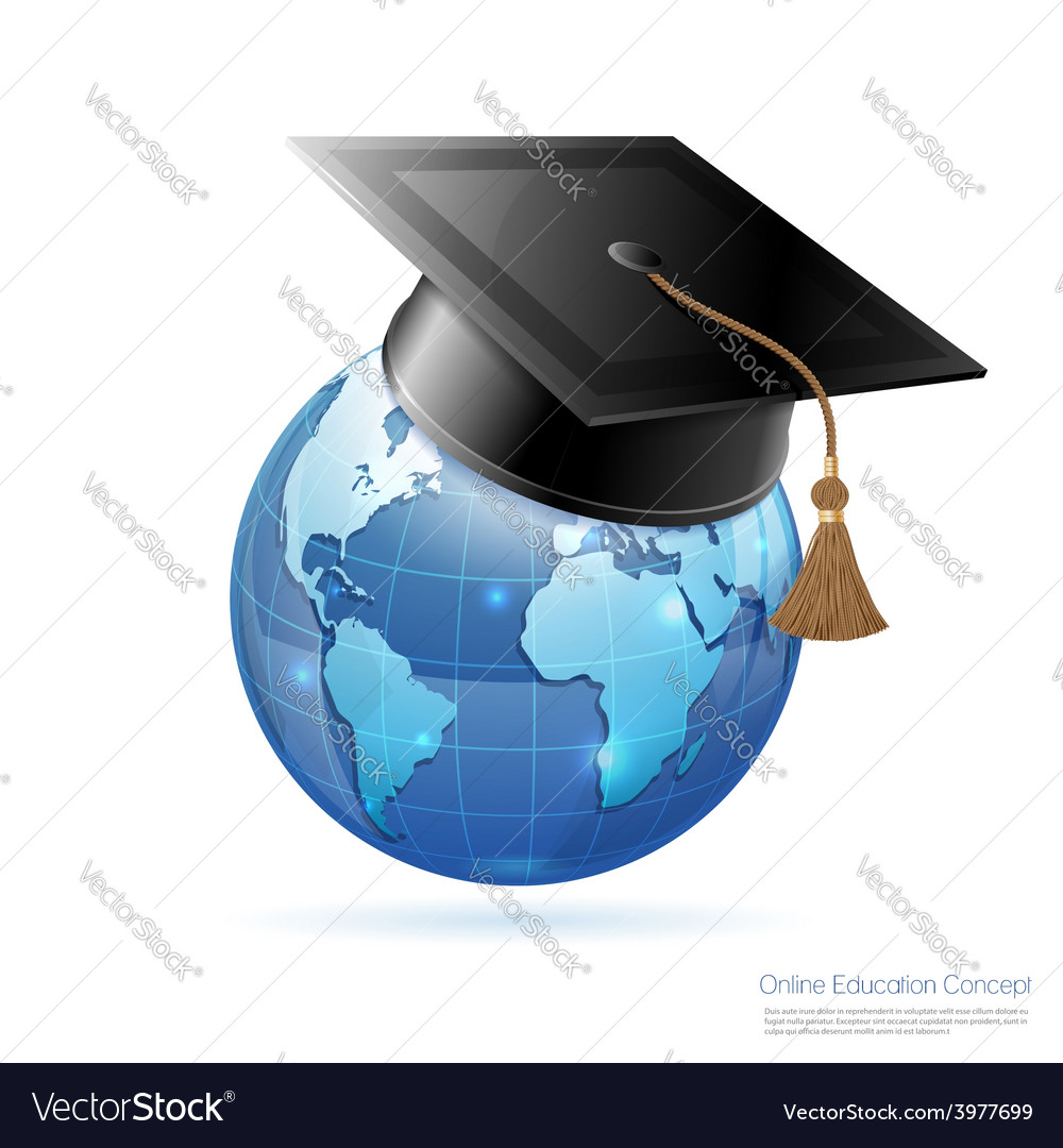 Online education concept vector | Price: 1 Credit (USD $1)