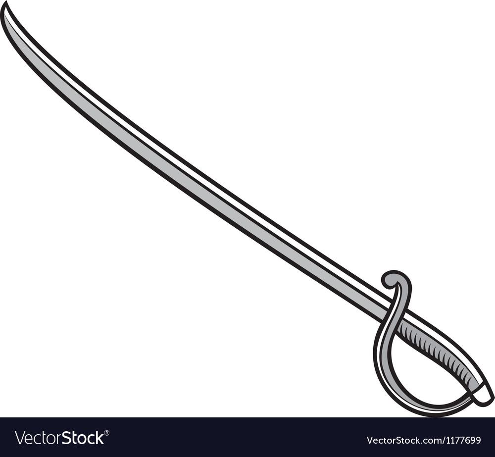 Saber-sword vector | Price: 1 Credit (USD $1)