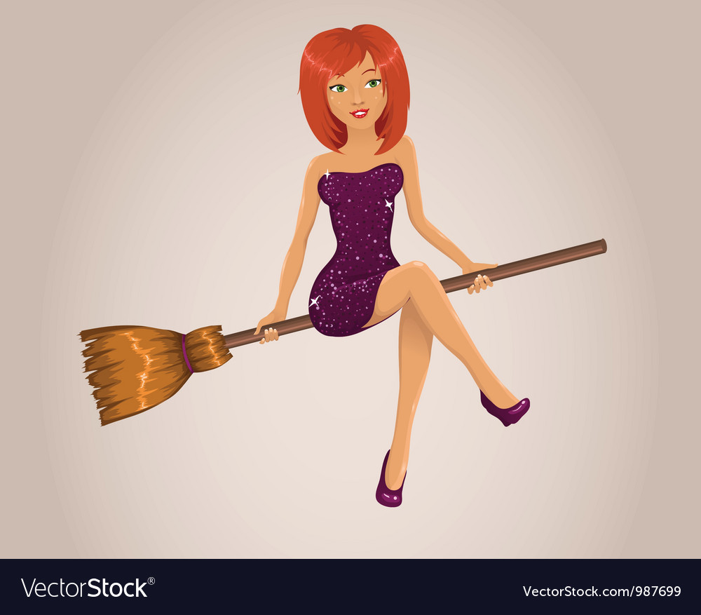 Sexy halloween witch vector | Price: 3 Credit (USD $3)