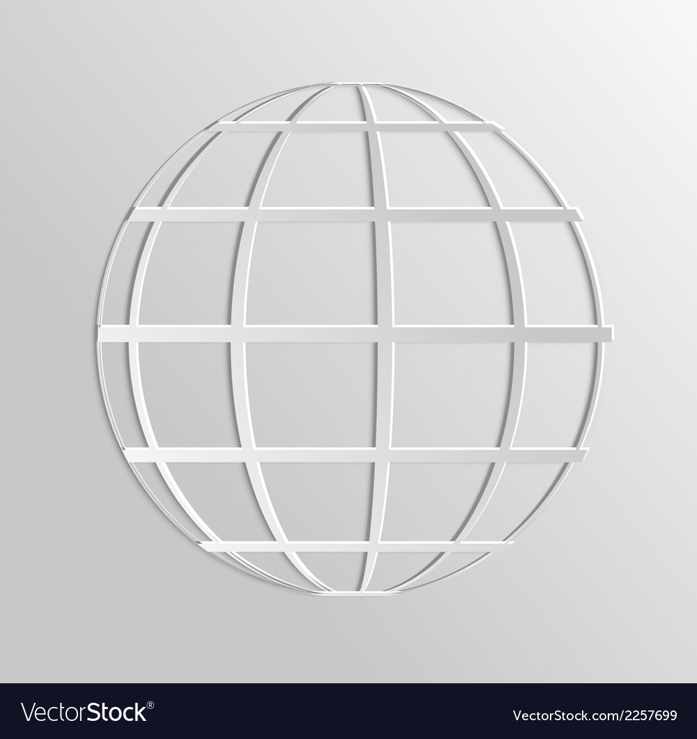 Worldnet the internet vector | Price: 1 Credit (USD $1)
