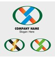 V icon x letters sign you can use in the commerce vector