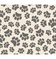 Background animal footprints vector