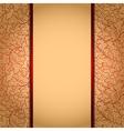 Elegant gold background vector