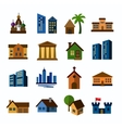 Hous icons vector