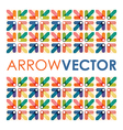 Arrow square vector