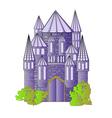 Fairytale castle vector