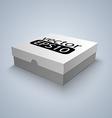Package white box design vector