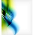 Smooth elegant wave business background vector