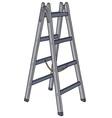 Metal ladder vector