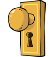 Doorhandle vector